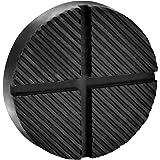 color negro Bloque de goma Kora 73 160 x 120 x 80 mm