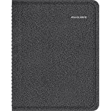 AT-A-GLANCE 2016 QuickNotes Recycled Weekly/Monthly Appointment Book, 12 Months, 8-1/4 x 10-7/8 Inch Pages, Black
