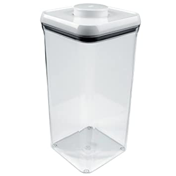 OXO Good Grips POP Square Food Storage Container, Big Square Lid, Tall   5.5