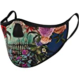 Unisex Fashion Dust Mask, Washable Reusable Floral Halloween Mask for Teens Adults Indoor and Outdoor Activities…