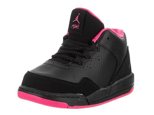 f00ebc089b6a01 Jordan Nike Toddlers Flight Origin 2 Td Black Black Hyper Pink Basketball  Shoe 9