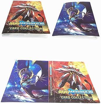 Album di Ccarte da Collezione Raccoglitore Porta Carte Pokemon Porta Carte Album Cartella Raccoglitore Libro 30 Pagine 240 capacit/à di Carte Pokemon Carte Album