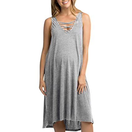 Amazon Com Photoprops Maternity Dress Inkach Pregnancy Women V