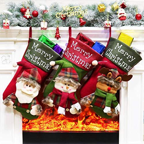 - Aitey Christmas Stocking, 3 Pcs 18