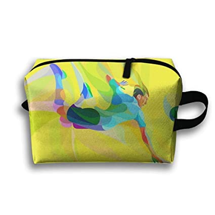 Travel Cosmetic Bags Brush Pouch Mens Volleyball Cosmetic ...