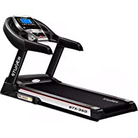 Stunner Fitness STX-360 (2.0 HP) Motorised Treadmill with Auto Inclination & Auto Lubrication SystemMP3Smart Phone App for Cardio Workout at Home