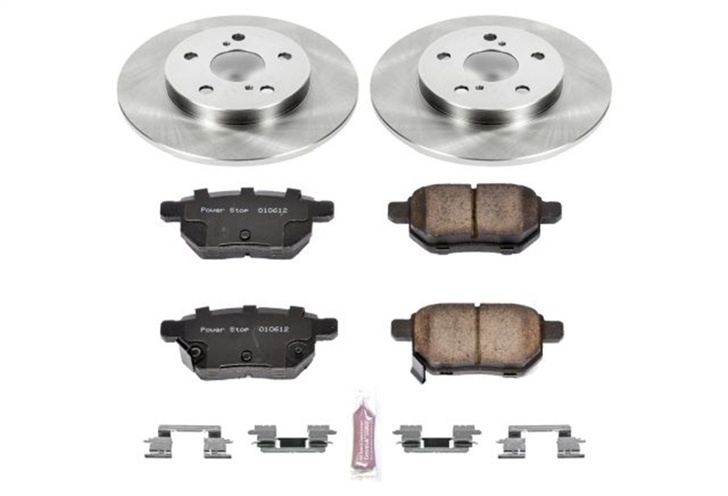 Autospecialty KOE4737 1-Click OE Replacement Brake Kit