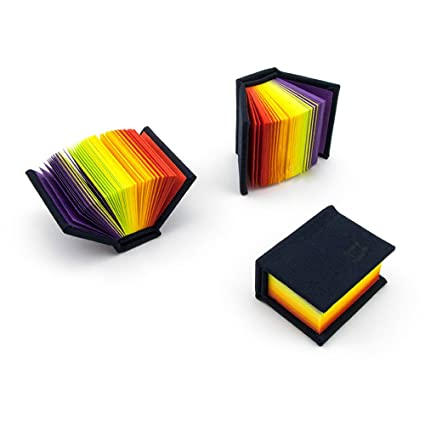 Amazon.com: iBlazer Super Mini Pocket Notebook Tiny Colored Pages ...