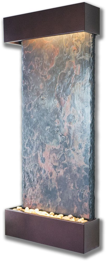 Water Wonders Large Nojoqui Falls with Copper Vein Trim by Water Wonders