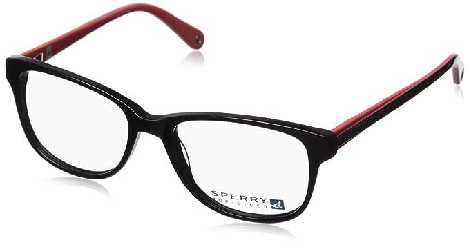 Amazon.com: Sperry Top-Sider Makena Womens Eyeglass Frames - Black ...