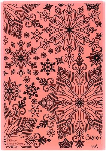 - Sizzix K Lizardi 3D TI Winter Snowflake Emboss Folder