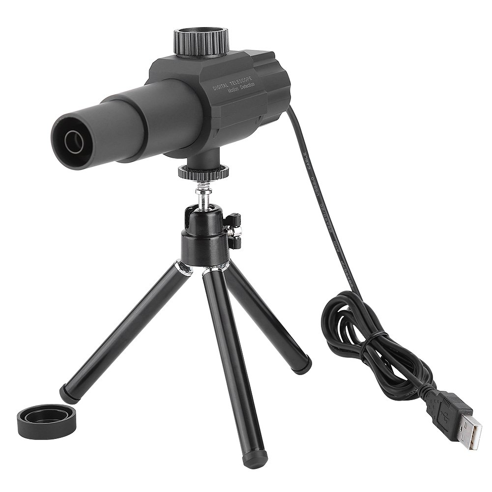 Fosa Digital Camera Telescope, USB Display Monoculars 2MP 70X Zooming Smart Motion Detection Video Recorder Camcorder with Tripod for Bird Watching Wildlife Hunting Hiking Camping Travelling Surveilla