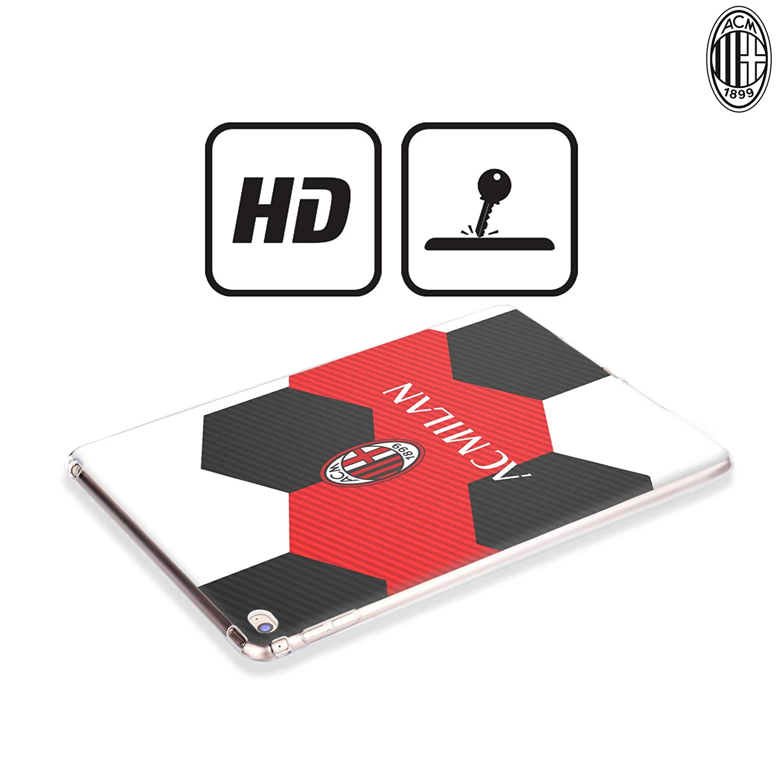 Amazon.com: Official AC Milan White 2018/19 Crest Soft Gel ...