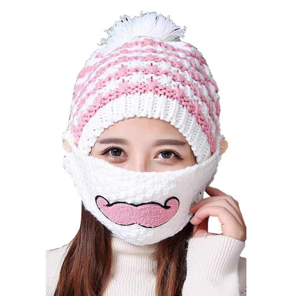 AchidistviQ Lovely Beard - Conjunto de Bufandas para Mujer, para el ...