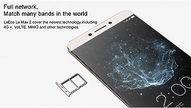 Leeco Le MAX 2 Smartphone – 2 K Pantalla de 5,7 Pulgadas, Snapdragon 820 CPU, Android 6.0, 4 G, Huellas Dactilares, 4 GB RAM, cámara 21 MP – envío Desde China/Hong Kong: Amazon.es: Electrónica