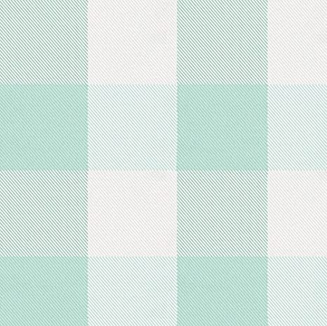 Carousel Designs Windsor Navy and Cloud Gray Buffalo Check Drape Panel 84-Inch Length Blackout Lining 42-Inch Width
