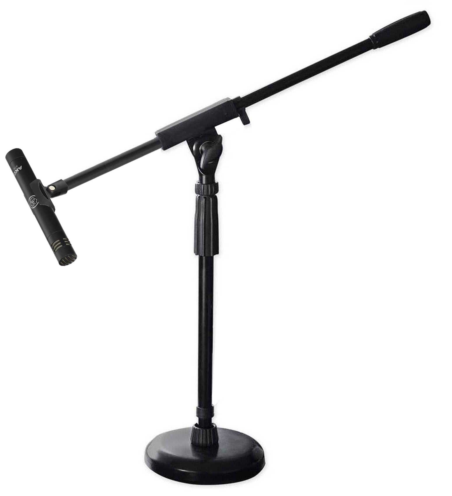 AKG P170 Studio Condenser Pencil Microphone Recording Instrument Drum Mic+Stand