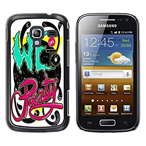 Dragon Case - FOR Samsung Galaxy Ace 2 - going to part - Caja protectora de pl??stico duro de la cubierta Dise?¡Ào Slim Fit