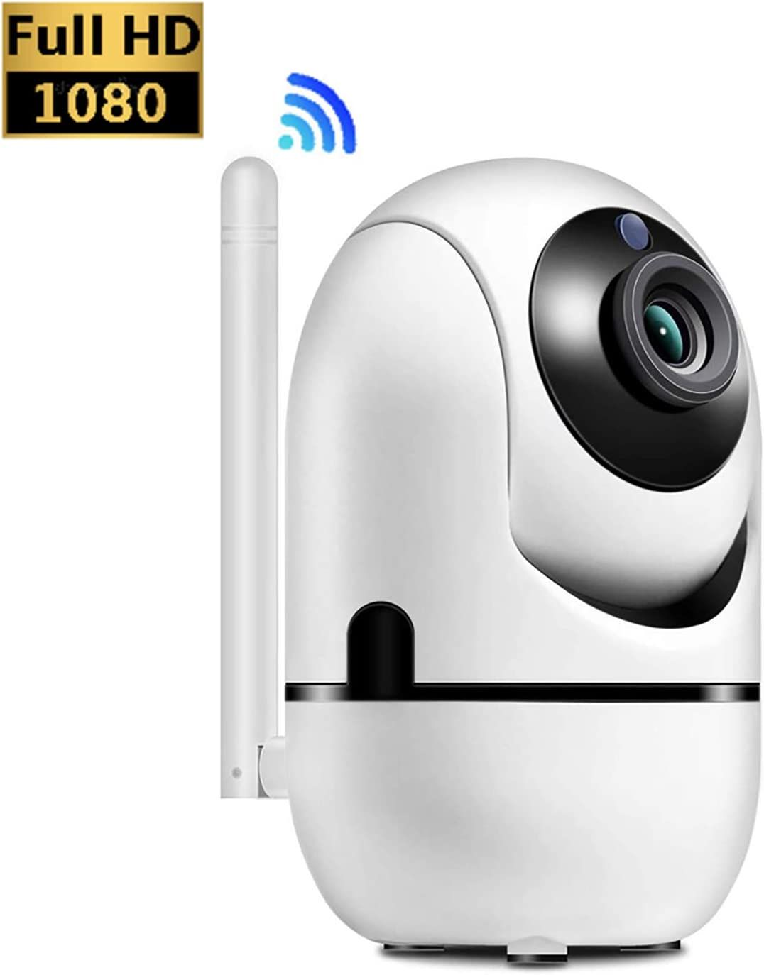 WiFi Camera,HALUM IP Wireless Security Camera System FHD Camera with HD Night Vision Two-Way Audio Motion Detection Indoor Camera for Baby Pet Monitor
