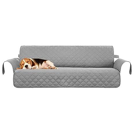 AOLVO - Funda Protectora para sofá de 3 plazas, Antideslizante, Impermeable, Acolchada,