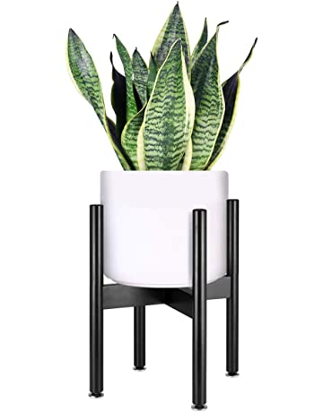 e3df1e13d Homemaxs Plant Stand Mid Century Wood Flower Pot Holder Indoor