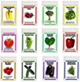 Heirloom Garden Vegetable Seeds NON GMO Easy Growers