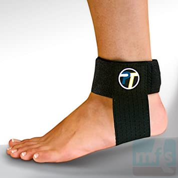 a8fb90d5b3 ProTec Achilles Tendon Support XL Tendonitis Pain Running Ankle Brace Strap  Injury: Amazon.co.uk: Health & Personal Care