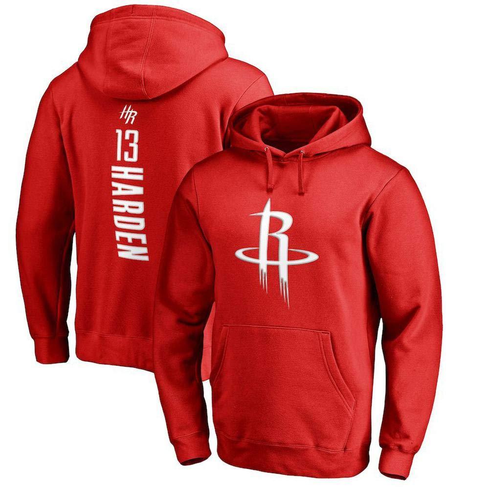 Sudadera Con Capucha De Los Hombres De La NBA Houston Rockets Sudadera De Baloncesto James Harden Edici/ón Suelta Camiseta Deportiva