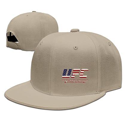 MaNeg Campeonato UFC MMA Unisex Fashion Cool Ajustable Snapback Gorra de béisbol Sombrero un tamaño,