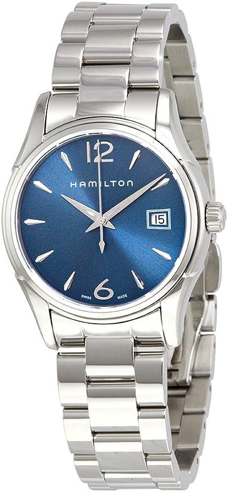Hamilton–Reloj Mujer Hamilton Jazzmaster Lady Cuarzo h32351145pulsera acero–hamilton-h32351145