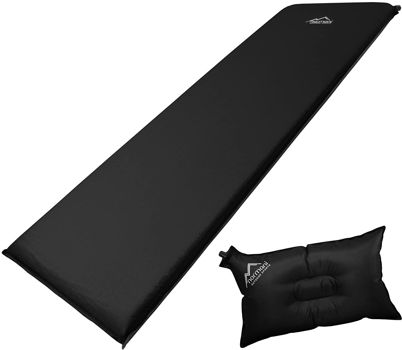 Normani Selbstaufblasbare Luftmatratze inkl. Kissen zum Outdoor Camping