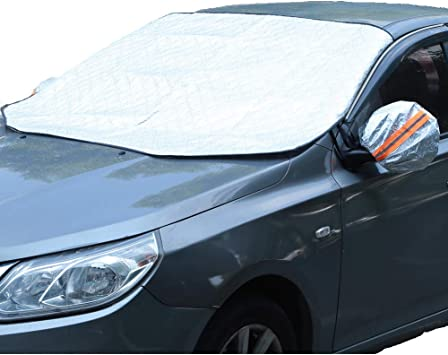 For TOYOTA HILUX CAR WINDSCREEN FROST COVER ICE SNOW DUST PROTECTOR