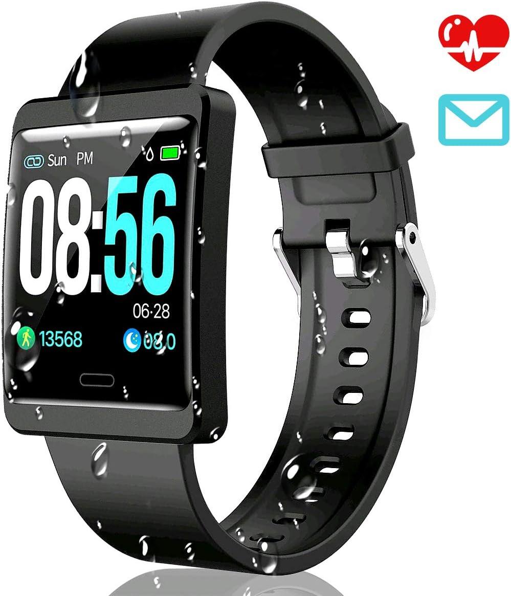 CatShin Smartwatch Pulsera Actividad-CS09 Impermeable IP67 Reloj ...