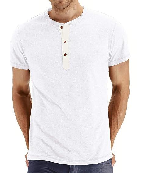 Cyiozlir Homme T-Shirt Manches Longues Shirt