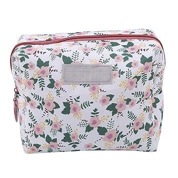 Amazon.com   EH-LIFE Fashion Travel Wash Bag Toiletry Floral Cosmetic Bag  Organizer Makeup Bags White   Beauty 0e9f02e4065df