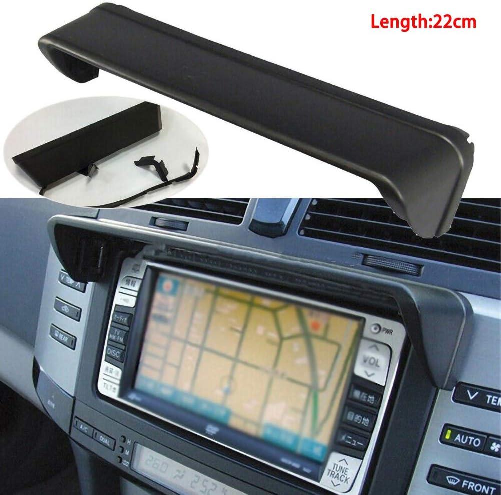 Universal 22cm Anti-glare GPS Navigation Hood Sun Shade Navigator Screen Cap