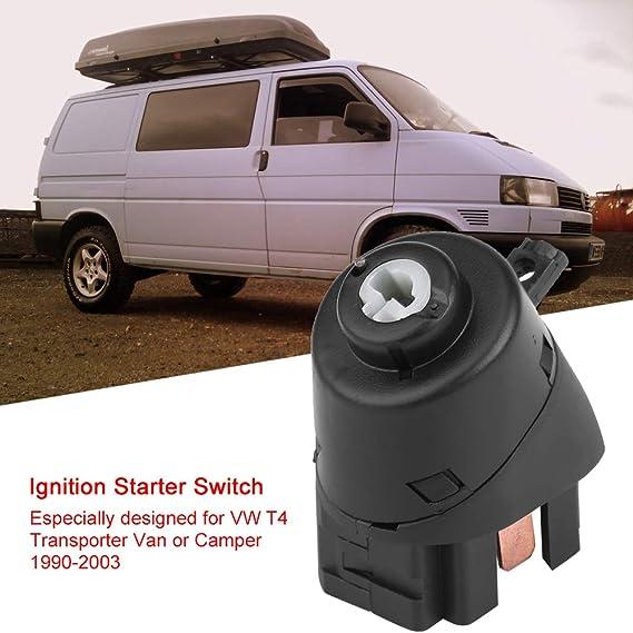 Arrancador de encendido, 6N0905865 Control del interruptor del arrancador de encendido del coche para T4 Transporter Van Camper 1990-2013: Amazon.es: Coche y moto