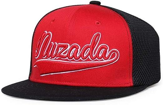 Yizhu Moda 3D Alfabeto Bordado Sombreros Snapback Bill Plano Hip ...