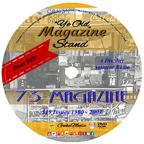 73 Magazine Amateur Radio Today All 519 Issues M127
