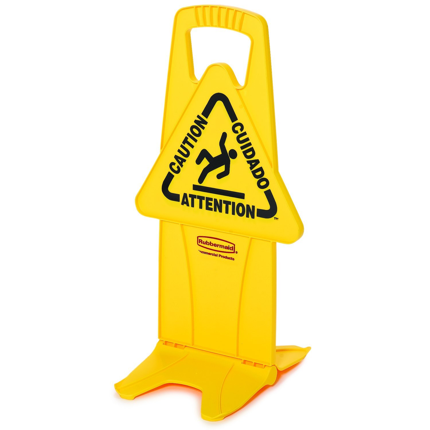 sign bright bilingual isolated online on yellow stock white signs caution floor wet picture