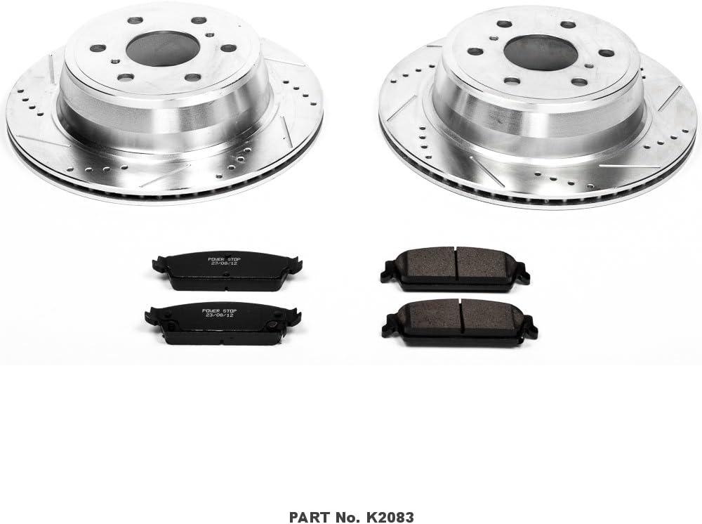 Fit 2007 Cadillac Escalade ESV,Escalade EXT FRT//RR Black Drill Slot Brake Rotors