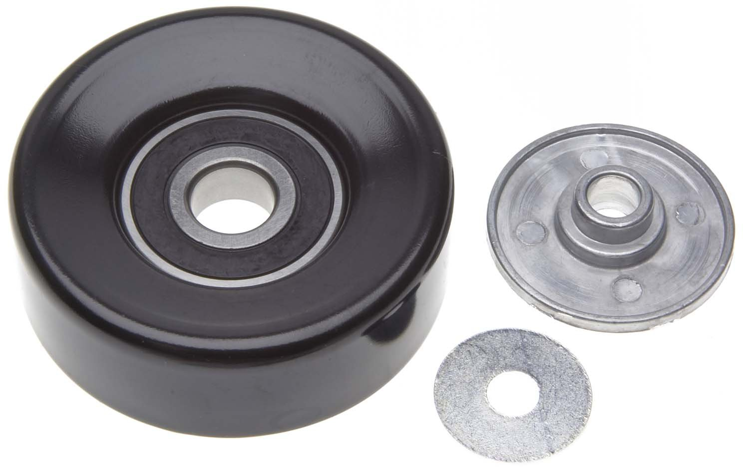 ACDelco 36272 Professional Idler Pulley with 10 mm Bushing and 10 mm I.D. Washer
