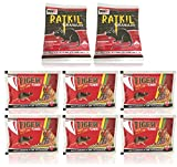 Advance Amazing Deadly Rat kill combo Tiger Ratkiller Cake (25gm x 6 pcs) Mouse control Rodent (50gm x 2 pcs) Amazing Effect