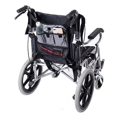 QEES GJB179 - Bolsa para silla de ruedas ajustable, bolsa de ...