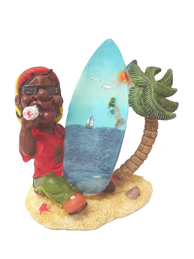 Desconocido Set 2 PORTAMOVILES Porta MOVIL Soporte Resina Tabla Surf PORRO Reggae Jamaica Variado: Amazon.es: Hogar