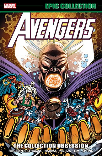 Avengers Epic Collection: The Collection Obsession (Avengers (1963-1996)) cover