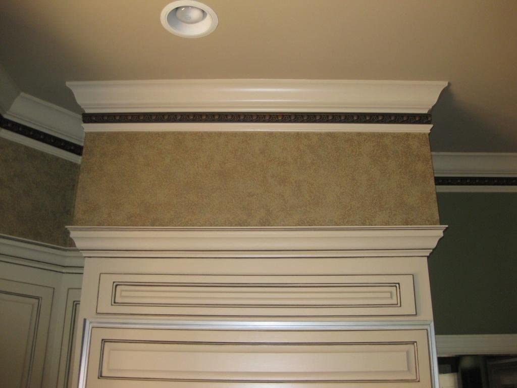 6 moldings Flat Crown Molding 1-15//16 Height 96 Length Manufactured with a Dense Architectural Polyurethane Compound