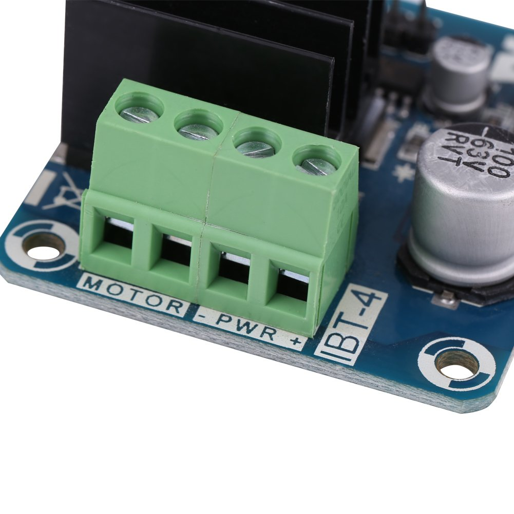 Keenso Module de Conducteur Refroidissement de Moteur /à Canal Unique de Puissance Elev/ée de Pont en H 50A Module de R/éfrig/ération de Semi-Conducteur