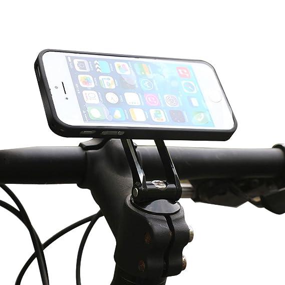 official photos e819f a9e50 Moutik Bike Phone Holder Case Bicycle Phone Mount Moutain Bike:Aluminum  Bike Cellphone Mount Alloy Holder for Phone 7 Plus