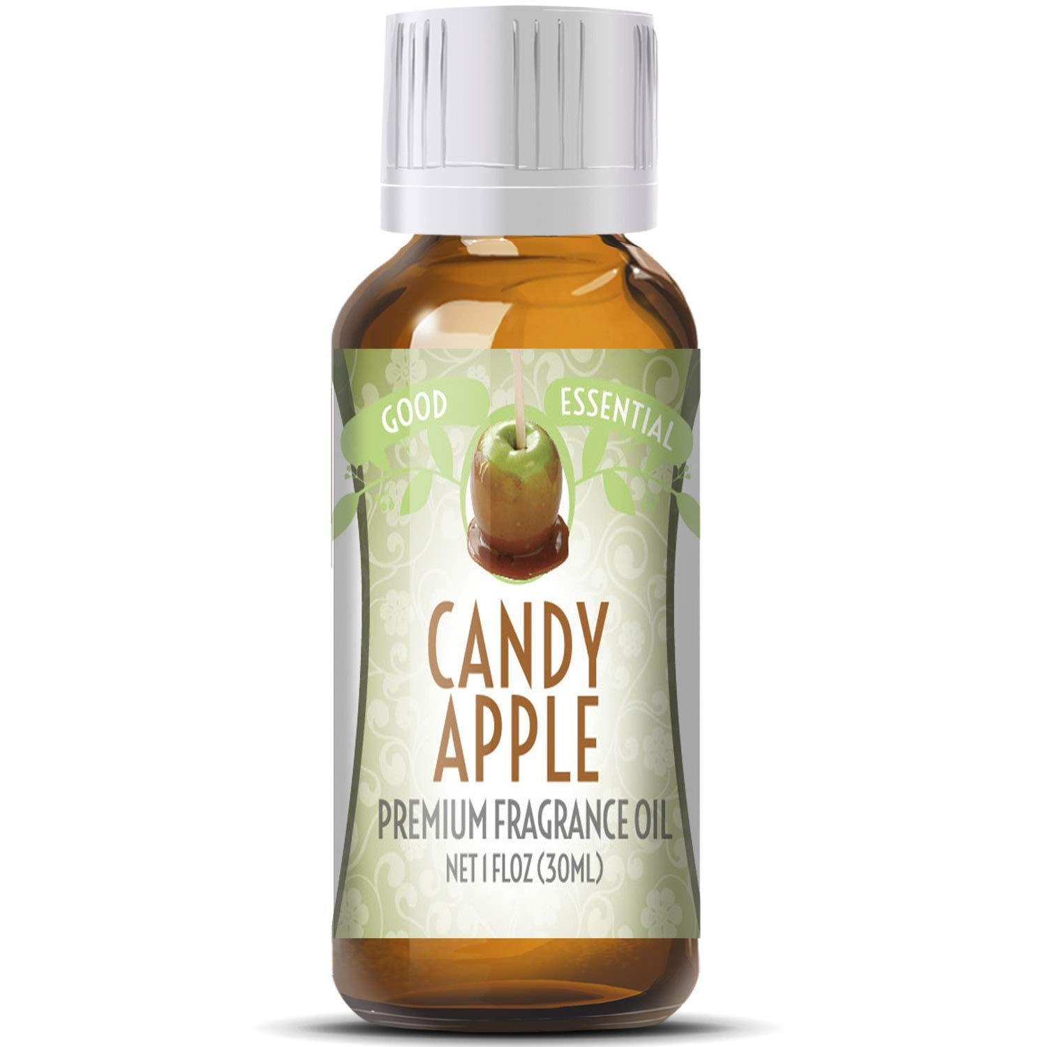 Candy Apple Scented Oil by Good Essential (Huge 1oz Bottle - Premium Grade Fragrance Oil) - Perfect for Aromatherapy, Soaps, Candles, Slime, Lotions, and More!